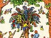 Картинка чудо дерево чуковского раскраска