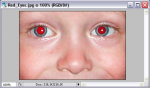 Как убрать красные глаза в фотошопе – Как убрать эффект красных глаз в фотошопе (Adobe Photoshop)