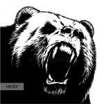 Шаблон мишки распечатать – фото и медведь контур рисунок, скачать картинки на Depositphotos®