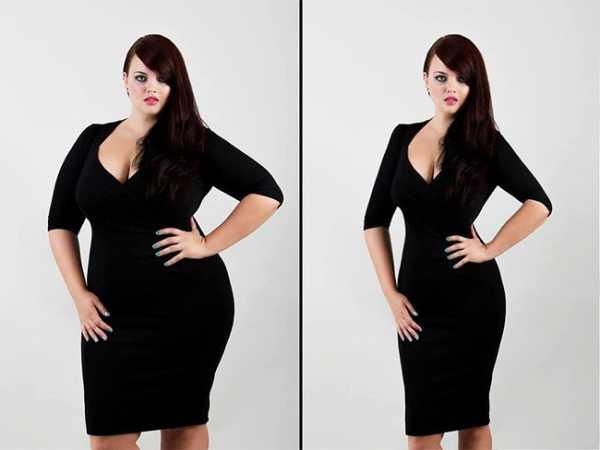 Фотошоп для похудения уроки
