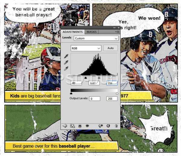 как создать комикс из фото раздел