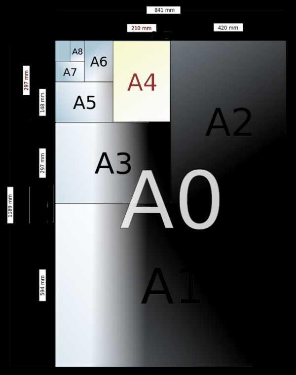 Точные размеры фотобумаги в фотолаборатории